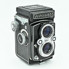💙  Yashica 635 Twin Lens Reflex TLR 120 6x6 & 35mm Film Camera. ***NR MINT***