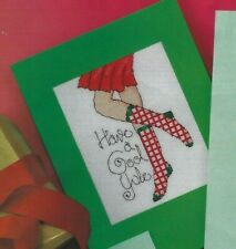 Stockings Shoes Sock Cards Christmas Happy Holidays Cross Stitch Patterns (cc30)
