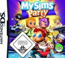 Nintendo DS 3DS MY SIMS PARTY 50 Minispiele MySims Deutsch Top Zustand