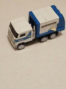 Vintage 1980 Buddy L Metal & Plastic Sanitation Collectors Toy Truck