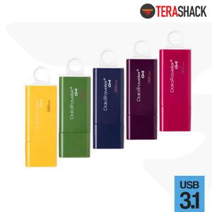 Kingston 32GB DataTraveler Flash Drive USB 3.1 3.0 Thumb Memory Pen Colors