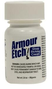 """Armour Etch Glass Etching Cream ~ 2.8 oz jar """"SHIPS TODAY""""3"""