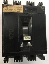 FPE 100 Amp Circuit Breaker Type NEF 480 Vac 3P NEF433100 With Load Lugs 100A