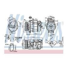 Fits BMW 1 Series E82 125i Genuine OE Quality Nissens A/C Air Con Compressor