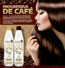Maria Escandalosa Coffee Progressive Brush 2 x 1000 ML Brazilian keratin