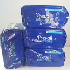 Prevail Breezers Ultimate Absorbency sz L  Case of 72 Briefs/Culottes 45-58''