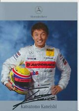 Katsutomo Kaneishi  DTM  Mercedes 2003 Autogrammkarte Druck signiert 384919