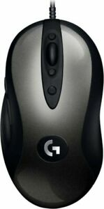 Logitech - G MX518 Wired Optical Gaming Mouse - Black/Gray - Fast Free Shipping