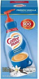 Coffee Mate Liquid French Vanilla Creamer with Pump, 1.5l