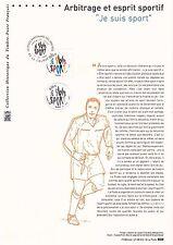 Document Philatélique Timbre 1er Jour : 04/10/ 2008 - Je suis Sport