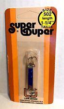 Luhr-Jensen Vintage Super Duper Chrome/ Blue