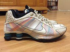 Women's Nike Shox R4 Flywire Running Shoes 395816-100 Size 6