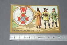 CHROMO GUERIN-BOUTRON 1905-1914 DECORATIONS RUSSIE ROSSIJA ORDRE DE ST-STANISLAS