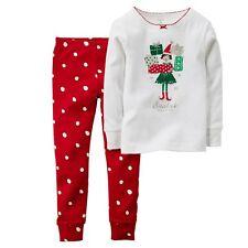 Carter's Girls' 2-Piece Cotton Pajamas Set Size 4