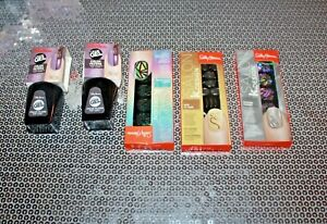 SALLY HANSEN 2 MIRACLE GEL 006 & 3 SALON KDESIGN 503:502;501 LOT OF 5 NEW /BOXED