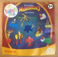 McDonalds Happy Meal Toy 2012 Dreamworks Madagascar 3 Toys - Various Figures