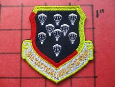 ORIGINAL AIR FORCE PILOT SQUADRON PATCH USAF 316 TAG TACTICAL AIRLIFT GROUP C130