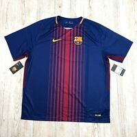 NIKE FC BARCELONA HOME STADIUM FOOTBALL SHIRT JERSEY Size 2XL XXL 847255 460