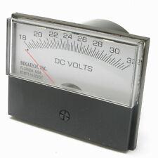 Panel Meter, 18-32 Volt DC Meter, 75 x 58mm