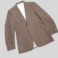 Levi's Panatela Vintage 70's Sport Coat Blazer Retro Disco Mens 42R Retro
