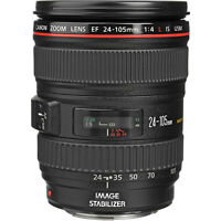 New Canon EF 24-105mm f/4L IS USM Lens - White Box - Big Clearance Sale 24-105