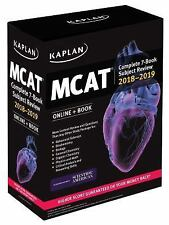 Kaplan Test Prep: MCAT Complete 7-Book Subject Review : Online + Book 2018-2019