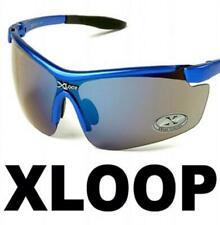 X loop heren zonnebril kobalt blauw - Nieuw!