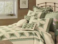 Jc Penney Embroidered Standard Pillow Sham - Port Seafoam