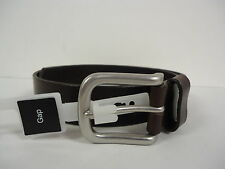 Gap Men's Smooth Leather Belt 30 BROWN Made in USA