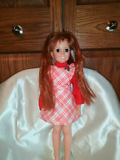 "Doll 17"" Ideal Grow hair Crissy Original dress and shoes"