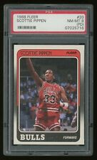 1988-89 Scottie Pippen PSA 8 (PD) Fleer Rookie Rc #20 *NICE* Hall Of Fame