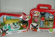 Bing Bunny Toys-6 Figure Gift Set & Gilly's Ice Cream-Fisher Price 🐰BRAND NEW🐰