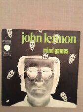 JOHN LENNON - Mind games / Meat city - 45 t
