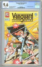Vanguard Illustrated #2 CGC 9.6 White Pages (1984) 2097903011