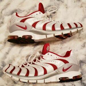 Nike Air Turbulance, 307802-661, White / Red, Men's Running Shoes, Size 12
