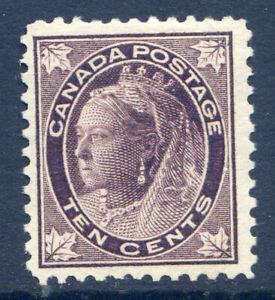 Canada 1897-8 10c brownish-purple mint redistributed gum (2019-09-18#11)