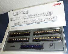 Märklin 4228 Wagen Set Rheingold 5 tlg Schnellzugwagen DRG beleuchtet H0 OVP