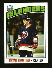 1976-77 Topps Hockey Card #115 Bryan Trottier New York Islanders Rookie