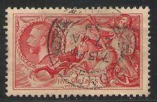 Great Britain #223 (SG #451) VF-XF Used - 1934 5sh King George V Seahorses