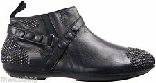 Authentic $910 Cesare Paciotti US 10 Leather Boots Italian Designer Shoes