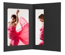 Abgabemappen  für  Fotos 10 x 15  schwarz
