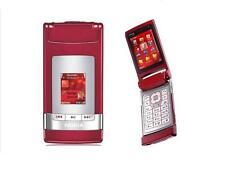 NOKIA N76 FLIP MOBILE PHONE RED / BLACK CELLPHONE UNLOCKED Free Shipping