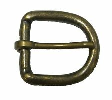 """1"""" inch 25 mm Solid Brass Antiqued Finish Buckle"""