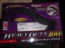 Paperpro Heavy Duty Stapler 100-Sheet Capacity Black/Silver 1300