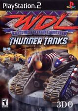 World Destruction League:Thunder Tanks (2000) New Factory Sealed USA PS2 Game