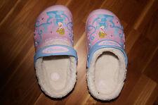 crocs gefüttert Cinderella    ❤️ rosa   ❤️  Gr. J 1  Innenlänge: 19 cm