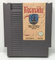 Nintendo NES Faxanadu Video Game Cartridge *Authentic/Cleaned/Tested*