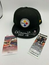 Dermontti Dawson Signed Pittsburgh Steelers NewEra CAP NEW JSA - Ticket - PIC