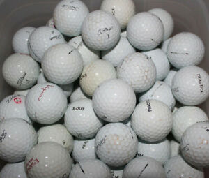 100 x Mixed Practise Golf Balls  # Clearance SALE