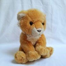 """Animal Alley Toys R Us Baby Lion Cub Floppy Lovey Toy 2000 13"""" Tall Cuddly Plush"""
